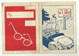 """5642 """"PORTANEGATIVI E FOTO-OTTICA FOTOGRAFIA CAV. D. CAPPELLO-BRINDISI"""" ORIGINALE - Supplies And Equipment"""