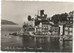 W5299 San Terenzo Di Lerici (La Spezia) - Panorama Col Castello / Viaggiata 1953 - Italie