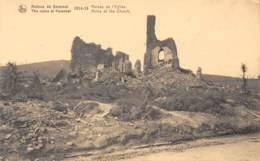 Ruines De KEMMEL - 1914-18 - Ruines De L'Eglise - Heuvelland