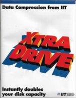 XtraDrive Pour DOS 3, 4 Et 5, Et Windows 3, En Anglais (1992, TBE+) - Autres