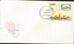 V) 1978 CARIBBEAN, SOCFILEX 78 HUNGARY, BLACK CANCELLATION, FDC - FDC