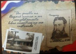O) 2019 PARAGUAY, BERNARDINO CABALLERO - HISTORIC MUSEUM, MNH - Paraguay