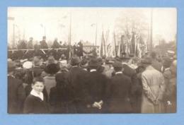 9492 Germany (?) Speech At The Rally Flags Original Photo Pc - Da Identificare
