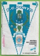 Porto - Revista Comemorativa Da Conquista Da Taça Dos Campeões Europeus Em Viena Em 1987 - Futebol - Estádio - Portugal - Sport