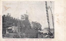 CASTELFRANCO VENETO-TREVISO-RICORDO DELLE FESTE SETTEMBRINE-CARTOLINA NON VIAGGIATA-ANNO 1900-1904 - Treviso