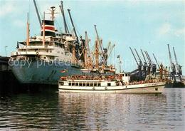 73228558 Schiffe_Ships_Navires Nordland Ueberseehafen Bremen  Schiffe_Ships_Navi - Unclassified