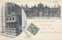CITTA DI CASTELLO-PERUGIA- CAMPOSANTO DELLA CITTA-BELLA CARTOLINA VIAGGIATA IL 13-11-1902 - Perugia