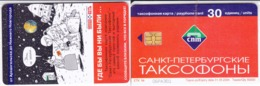 Phonecard   Russia. Sankt - Petersburg 30 Units  Test - Obrazenc Quantity: 50 Pcs R - Rusland