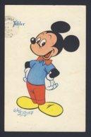 Walt Disney - Mickey Mouse  Hands On Hip - Tobler PU 1953 - Attori