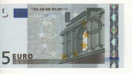 """5 EURO  """"M"""" Portugal  Firma Duisenberg  U 002 D6  / FDS - UNC - EURO"""