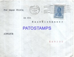 122356 ARGENTINA BUENOS AIRES COVER YEAR 1920 CIRCULATED TO GERMANY NO POSTAL POSTCARD - Argentinien