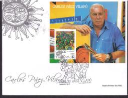 Uruguay - 2011 -  FDC - Carlos Paez Vilaro - Peintre-céramiste-sculpteur-muraliste-écrivain-compositeur Et Constructeur - Uruguay