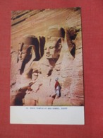 Egypt  Rock Temple At Abu Simbel    Ref 3678 - Other