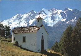 10823865 Saas-Fee Saas-Fee [Stempelabschlag] Bergkapelle Triftalp X Saas Fee - VS Valais