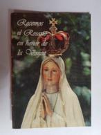 REZO DEL ROSARIO VIRGEN MARÍA, FATIMA, LIBRILLO BOGOTÁ COLOMBIA - Religione & Esoterismo