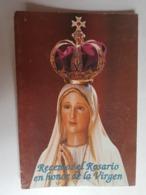 REZO DEL ROSARIO VIRGEN MARÍA, FATIMA, LIBRILLO BOGOTÁ BUENOS AIRES, ARGENTINA - Religione & Esoterismo