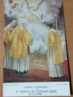 Image PIEUSE : 1ere Communion De Ste THÉRÈSE De L'Enfant-Jésus - Religione & Esoterismo