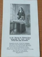 Image PIEUSE : Ste THÉRÈSE De L'enfant JÉSUS - Religione & Esoterismo