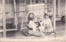 75 PARIS - EXPOSITION COLONIALE 1907 - Tisseuses De Tapis - Gros Plan - Très Bon état - LL N° 96 - Mostre