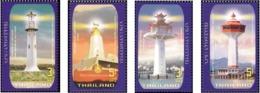 Thailand 2019 Lighthouse 4v Mint - Thailand