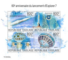 Togo 2019 Launch Of Explorer 7 ,space  S201909 - Togo (1960-...)