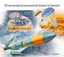 Togo 2019  Launch Of Venera 5 And Venera 6 ,space  S201909 - Togo (1960-...)