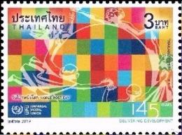 Thailand 2019 World Post Day 1v Mint - Thailand