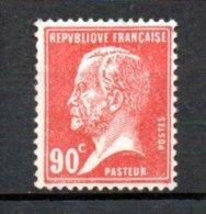 France N° 178 ** . A Saisir !!! - 1922-26 Pasteur