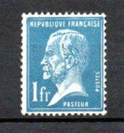 France N° 179 ** . A Saisir !!! - 1922-26 Pasteur