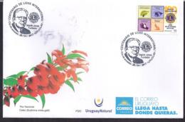 Uruguay - 2017 -  FDC - Centenaire De Lions International - Rotary, Lions Club