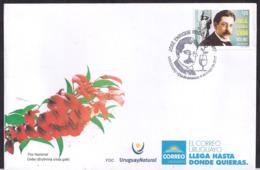Uruguay - 2017 - FDC - Jose Enrique Rodo - Uruguay