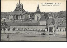 Cambodge Pnom Penh Pagode Royale , Vue De L' Extérieur - Cambodge