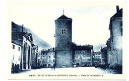 73 - SAINT JEAN De MAURIENNE - Place De La Cathédrale  (Z101) - Saint Jean De Maurienne