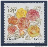 N° 4958 Congès Mondial Des Stés De Roses 2015 à Lyon Faciale 1,20 € - France