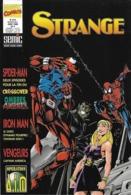STRANGE  N° 318 -  Mai 1996  - Marvel Comics  Semic -  L' Araignée  Iron Man  Captain América - Strange