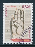 ANDORRA (franz. Post ) Mi.Nr. 661 Pfadfinder - 2007- Used - Europa-CEPT