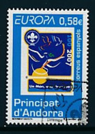 ANDORRA (span. Post ) Mi.Nr. 341 Pfadfinder - 2007- Used - Europa-CEPT