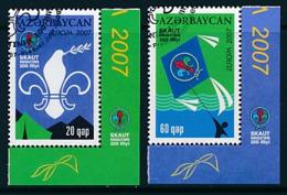 ASERBAIDSCHAN Mi.Nr. 679-680 A D Pfadfinder - 2007- Used - Europa-CEPT