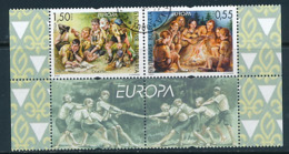 BULGARIEN  Mi.Nr. 4792-4793  Pfadfinder - 2007- Used - Europa-CEPT