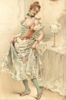 Illustrateur Jeune Femme Admirant Sa Toilette RV - Femmes
