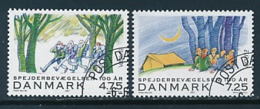 DÄNEMARK Mi.Nr. 1470-1471 Pfadfinder - 2007- Used - Europa-CEPT