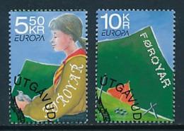 DÄNEMARK - FÄRÖER  Mi.Nr. 607-608  Pfadfinder - 2007- Used - Europa-CEPT