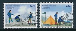 DÄNEMARK - GRÖNLAND  Mi.Nr. 480-481  Pfadfinder - 2007- Used - 2007
