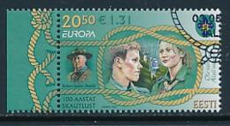 ESTLAND  Mi.Nr. 585  Pfadfinder - 2007- Used - 2007