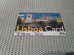 Portugal - Nice Access Card - Portugal