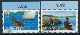 GUERNSEY Mi.Nr. 1131-1132  Pfadfinder - 2007- Used - Europa-CEPT