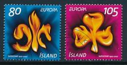 ISLAND Mi.Nr. 1168-1169  Pfadfinder - 2007- Used - Europa-CEPT