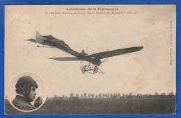 Marcel Hanriot Sur Son Monoplan 1910 (PETITS DEFAUTS TTB TENUE ) Ti 290 - Aviadores