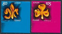 ISLAND Mi.Nr. 1170-1171  Pfadfinder - 2007- Used - Europa-CEPT