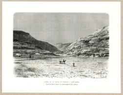 Caravan Route Corosco Nubia Desert Camel Sudan Antique Engravings 1885 - Prints & Engravings